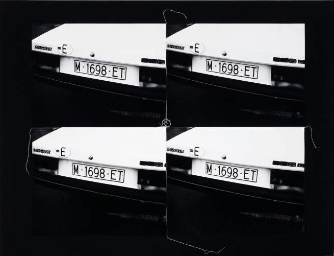 Andy Warhol. 'European License Plate, 1976-1986' 1986