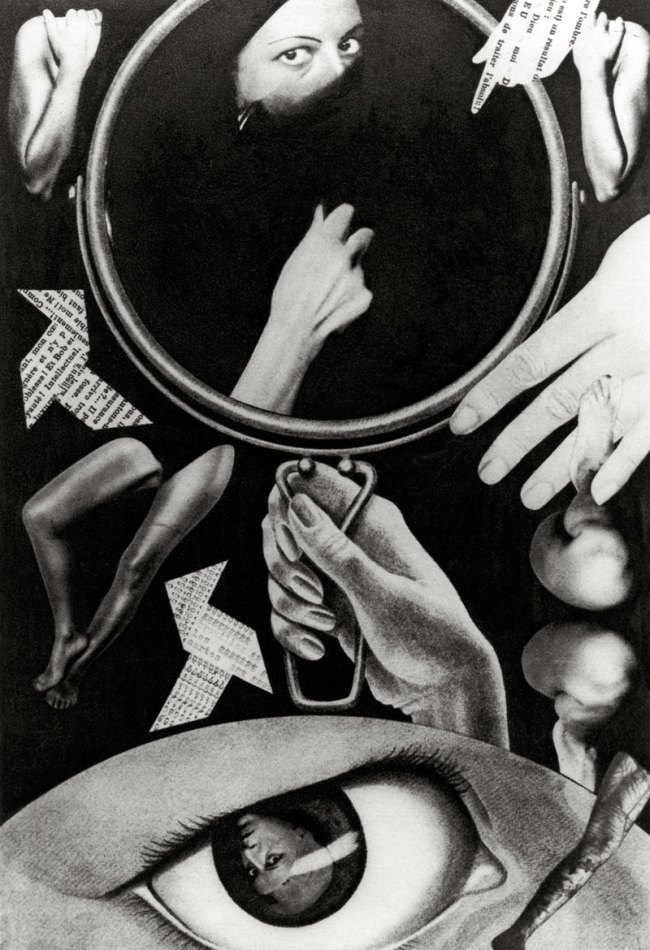 Claude Cahun. 'Aveux non avenus, planche III' 1929-1930