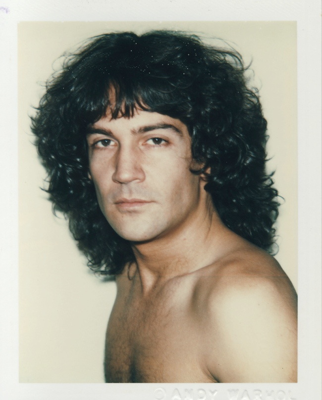 Andy Warhol. 'Billy Squier' 1982