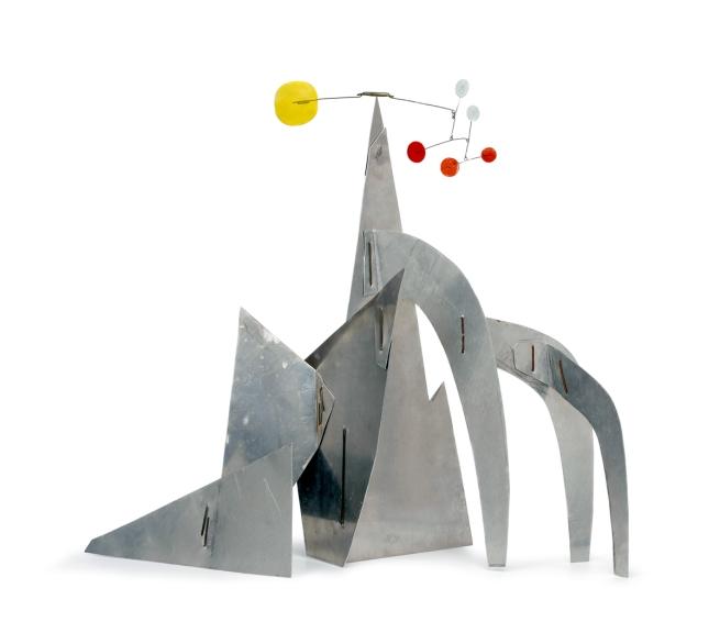 Alexander Calder. 'Untitled (maquette)' Summer 1976