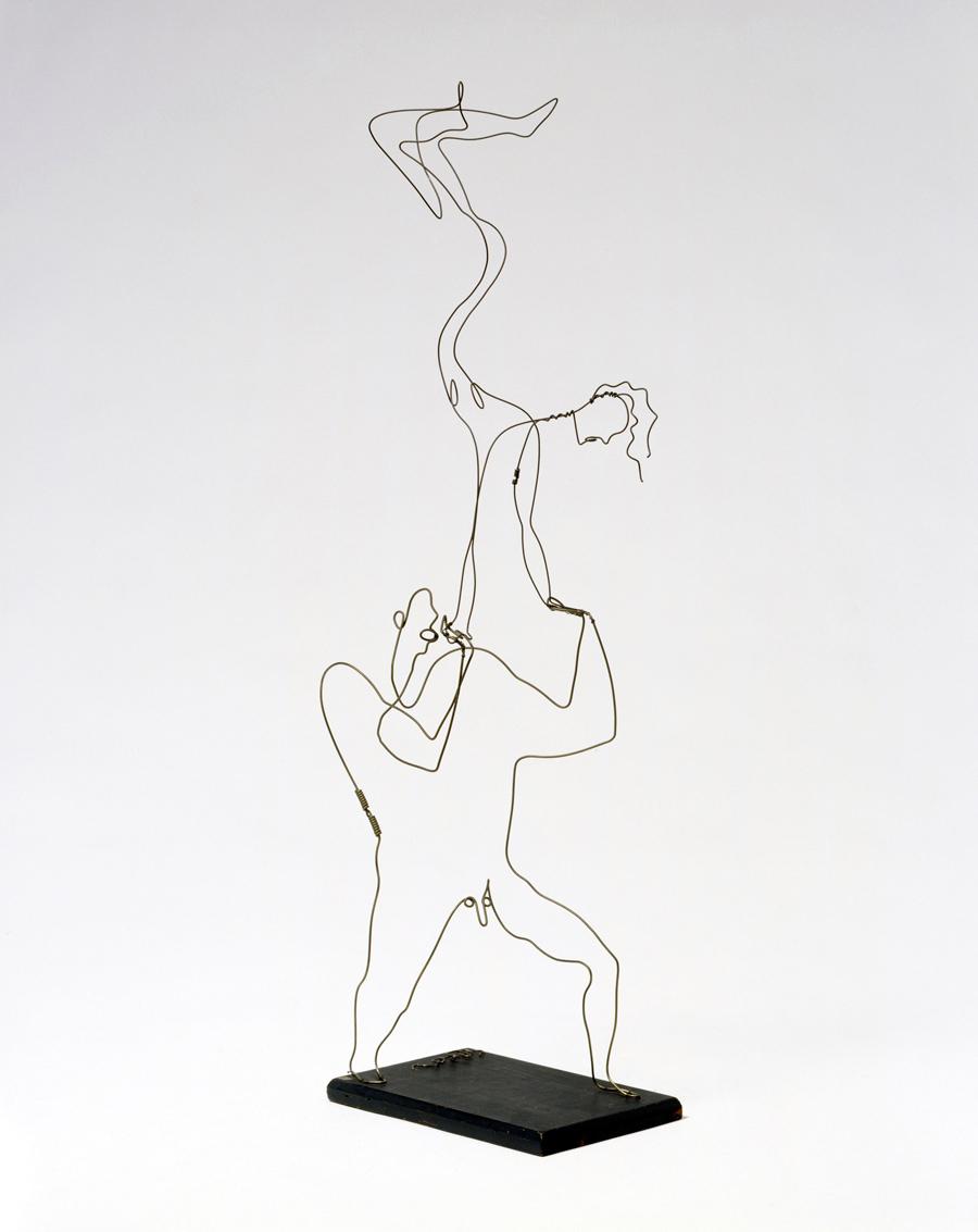 Alexander Calder Circus Drawings materials      Alexander