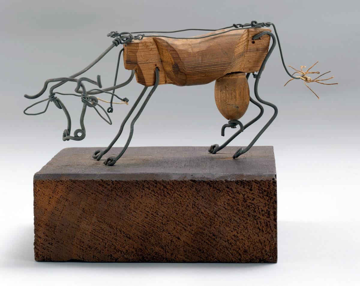 Alexander Calder Cow   Art Blart