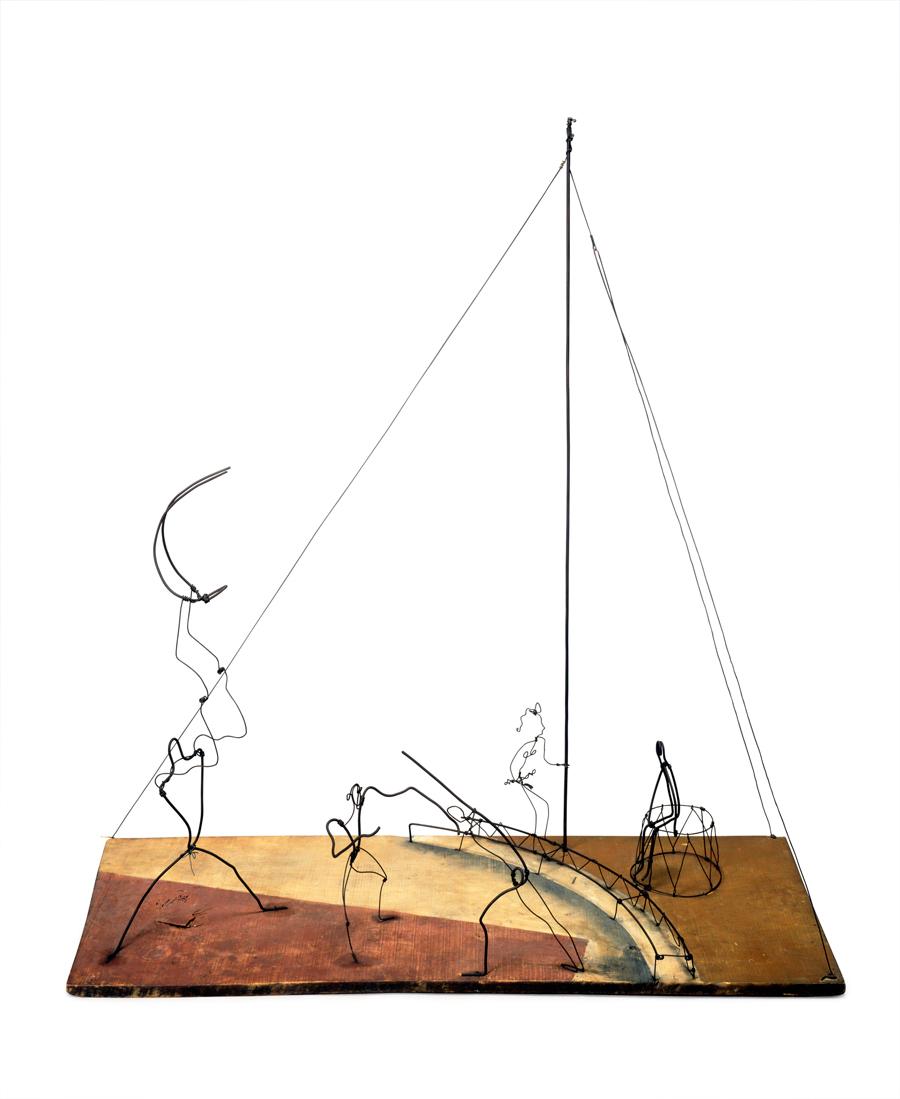 Alexander Calder Circus Drawings 2010     Alexander Calder