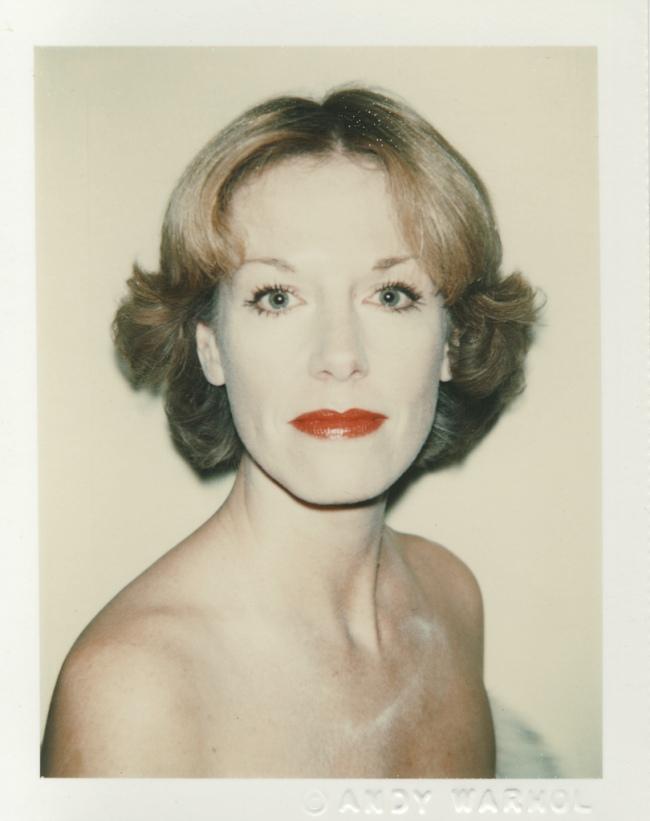 Andy Warhol. 'Daryl Lillie' 11/1978