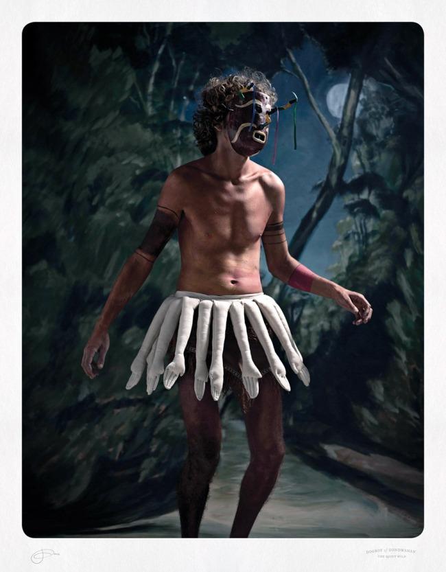 Jacqui Stockdale. 'Dogboy of Gondwanan' 2012