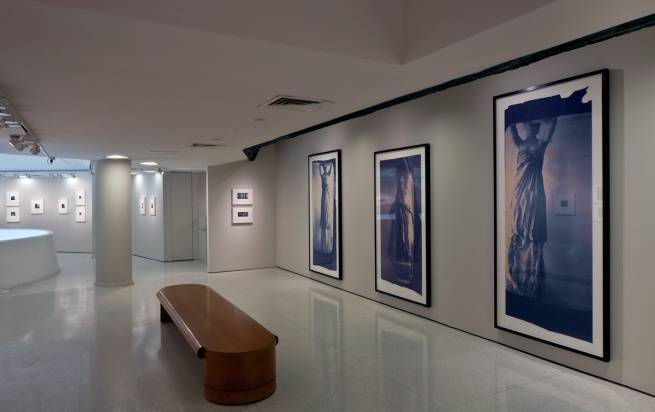 Installation view: Francesca Woodman, Solomon R. Guggenheim Museum, March 16 - June 13, 2012