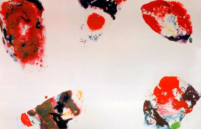 Sam Francis. 'Berlin Red' 1969-1970