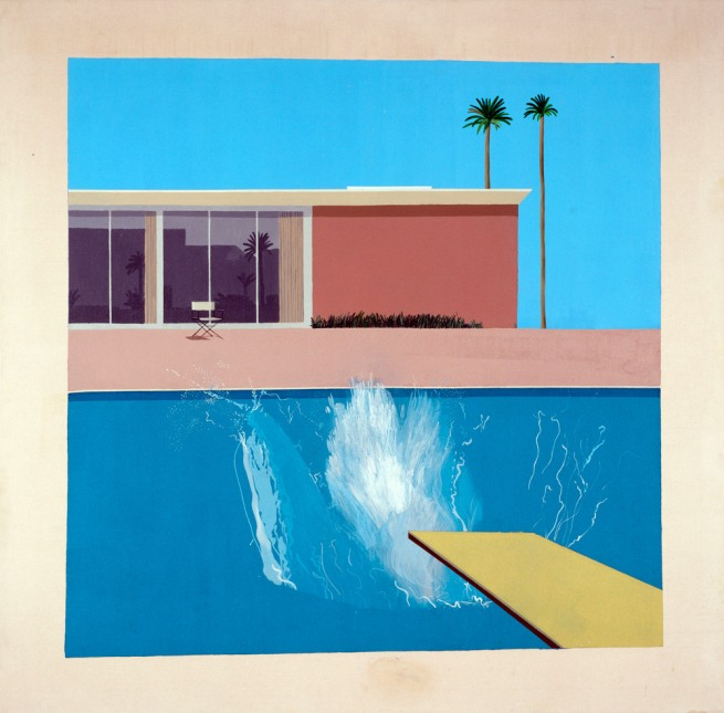 David Hockney. 'A Bigger Splash' 1967