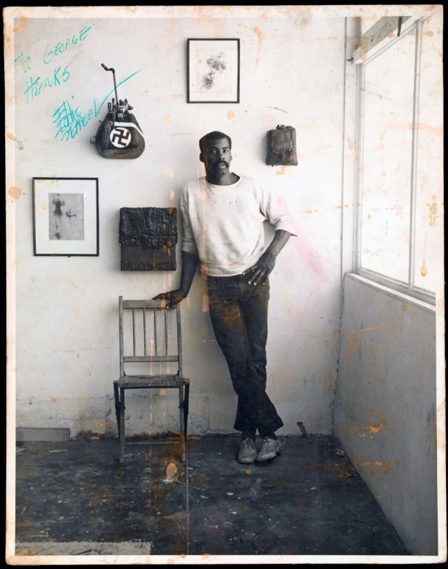 Jerry McMillan. 'Ed Bereal in His Studio' c. 1961