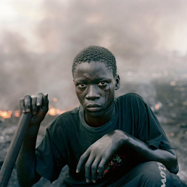 Pieter Hugo. 'Abdulai Yahaya, Agbogbloshie Market, Accra' From the series 'Permanent Error', 2009-2010