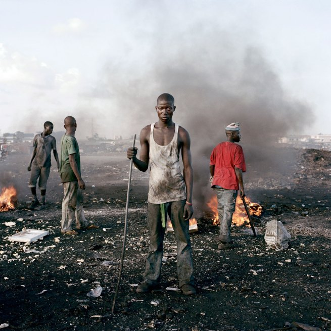Pieter Hugo. 'David Akore, Agbogbloshie Market, Accra' 2009-2010 From the series 'Permanent Error'