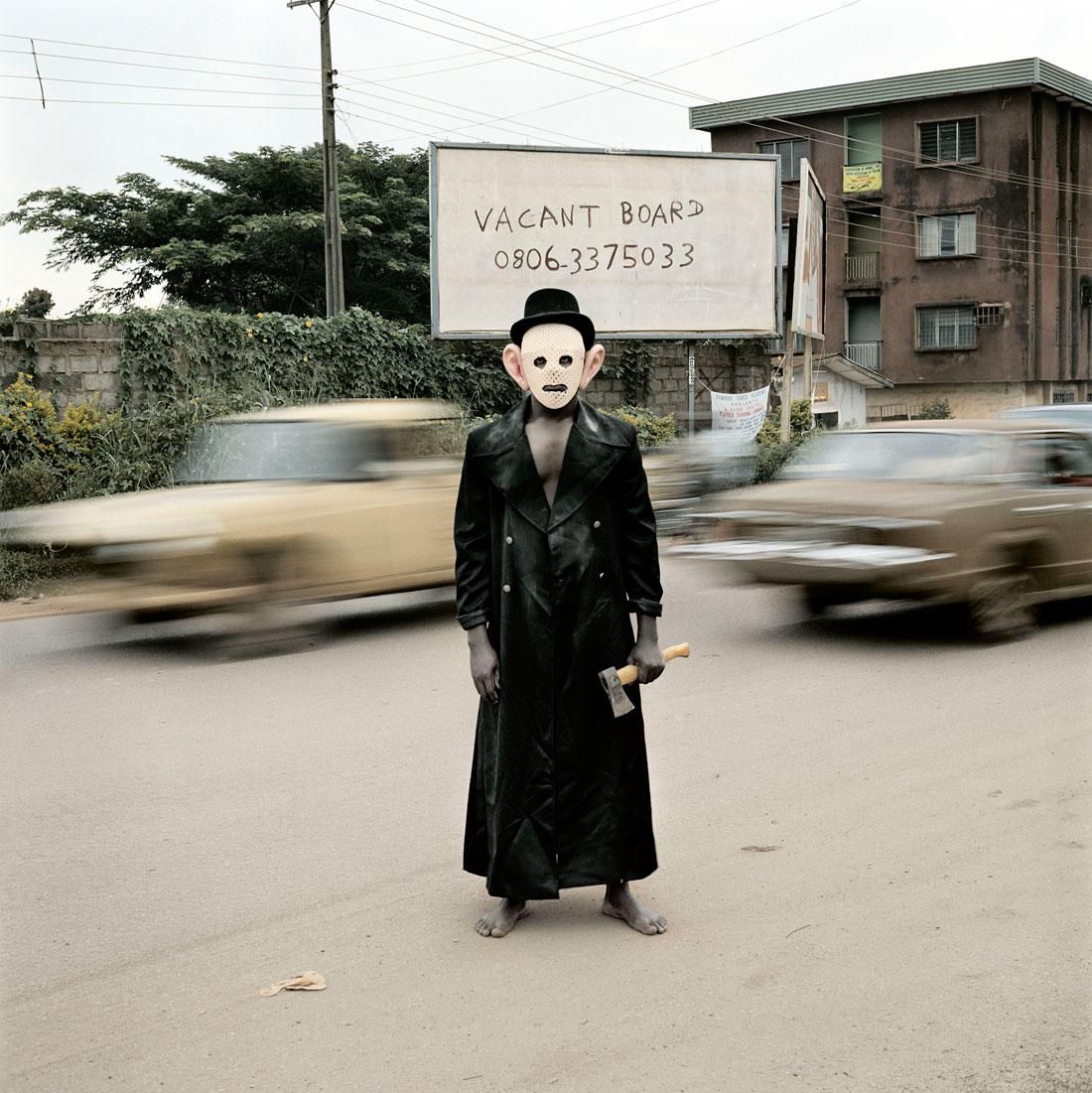 Pieter Hugo. 'Escort Kama, Enugu' From the series 'Nollywood' 2008-2009