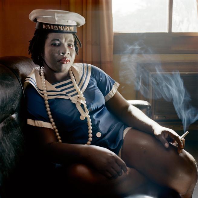 Pieter Hugo. 'Obechukwu Nwoye, Enugu' From the series 'Nollywood' 2008-2009