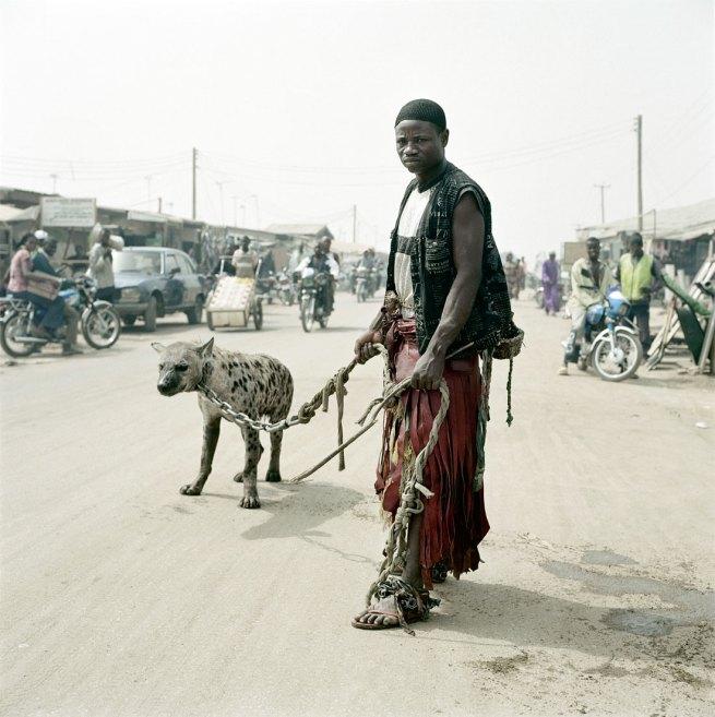 Pieter Hugo. 'Mallam Mantari Lamal with Mainasara, Abuja' From the series 'The Hyena & Other Men' 2005-2007