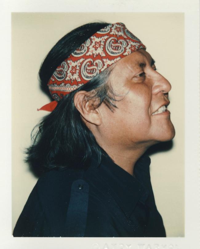 Andy Warhol. 'R.C. Gorman' 1979