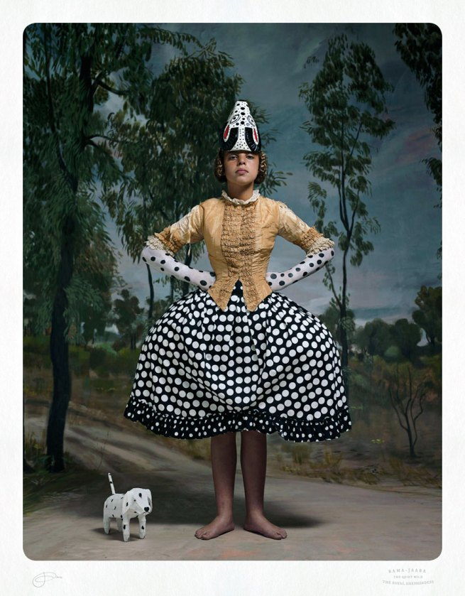Jacqui Stockdale. 'Rama-Jaara the Royal Shepherdess' 2012
