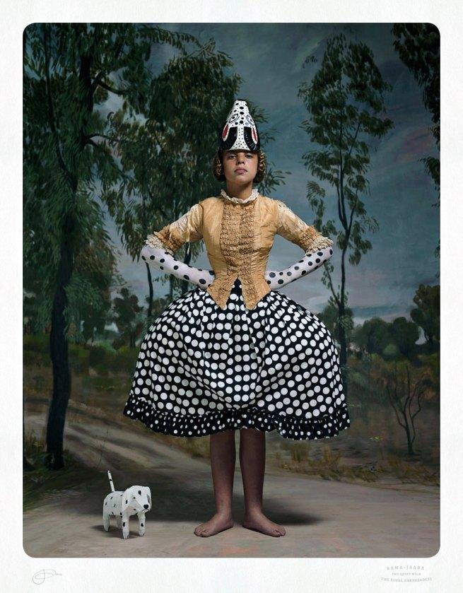 Jacqui Stockdale. 'Rama-Jaara the Royal Shepherdess' 2012