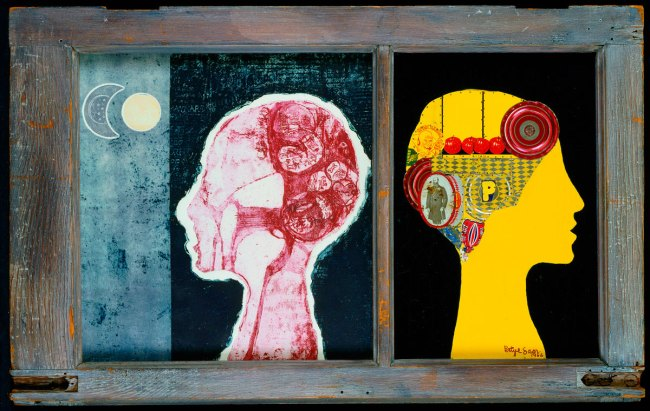 Betye Saar. 'The Phrenologer's Window' 1966