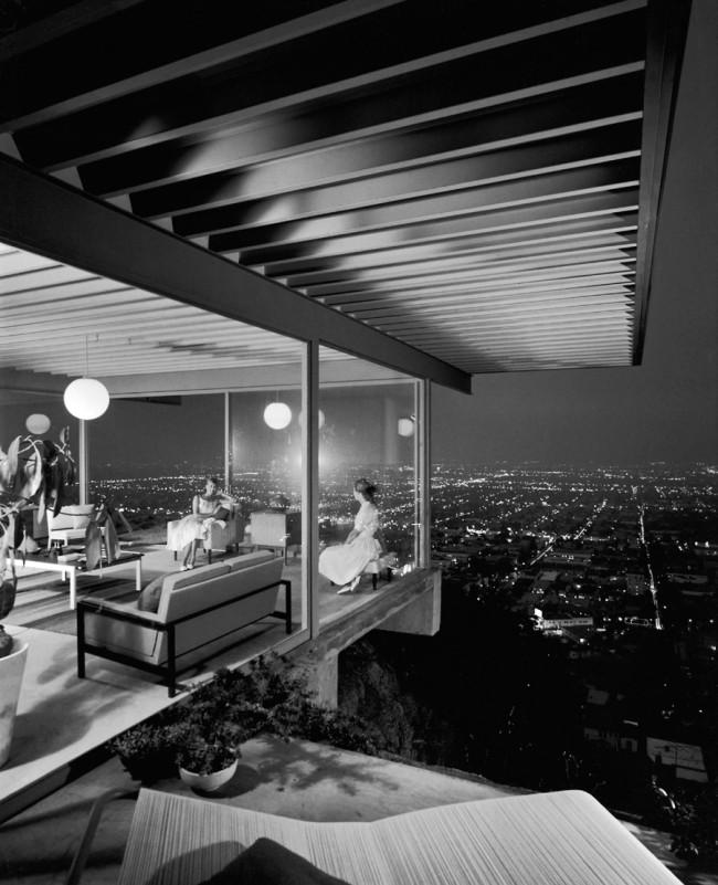 Julius Shulman. 'Case Study House #22' 1960