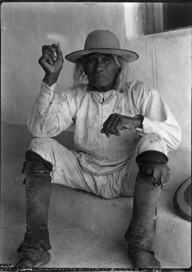 Sumner Matteson(American, 1867-1920) 'Simon Zuni' 1900