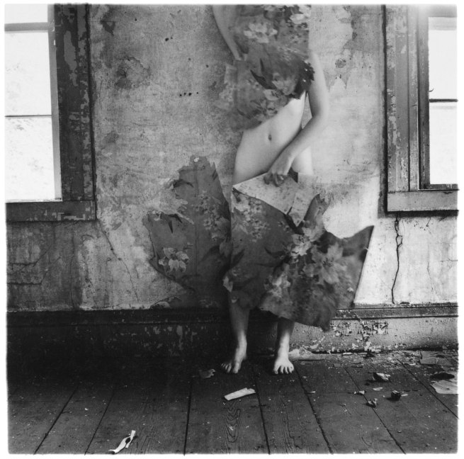 Francesca Woodman. 'Space2' 1976