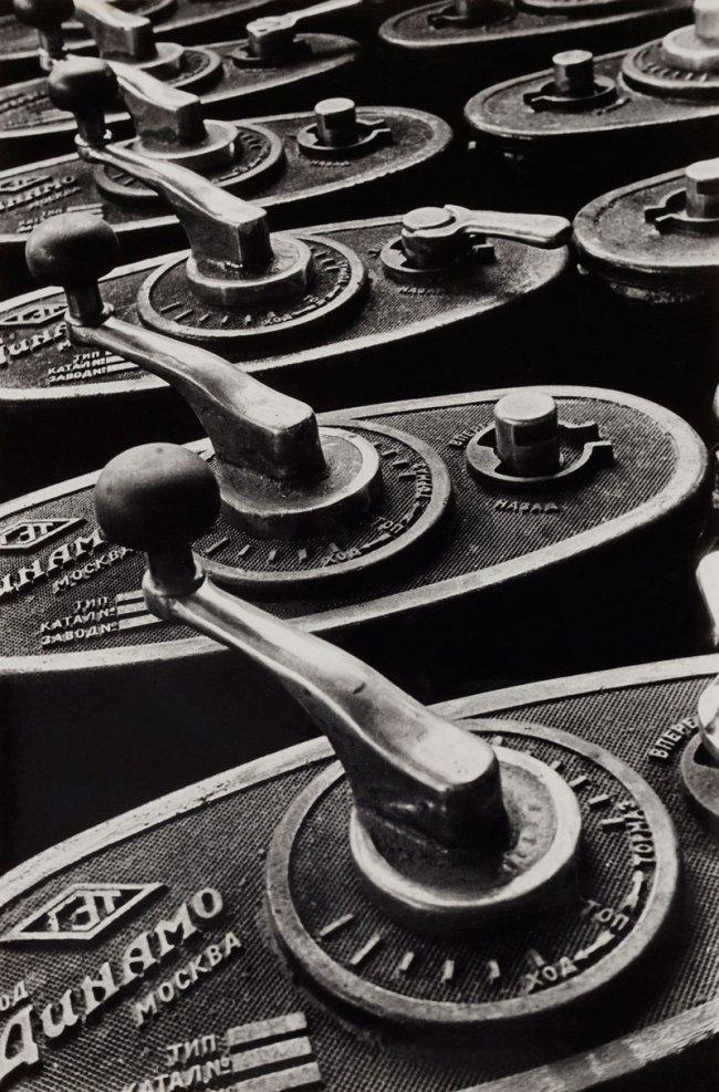 Boris Ignatovich. 'Tramway Handles' 1930s (printed 1955)