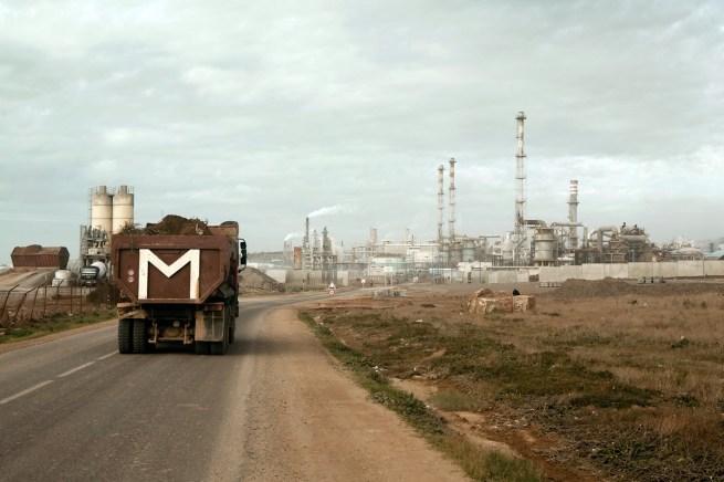 Kristian Laemmle-Ruff. 'Truck in Safi' 2010