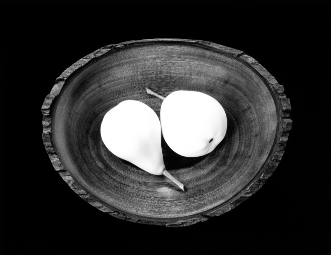 Paul Caponigro. 'Two Pears, Cushing, ME' 1999