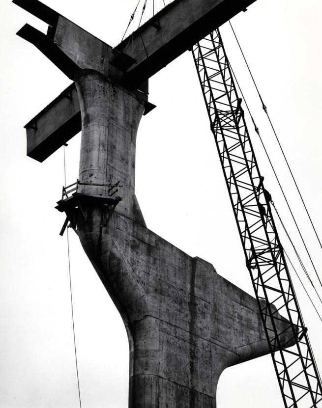 Brett Weston. '(Untitled) Fremont Bridge, Portland' 1971