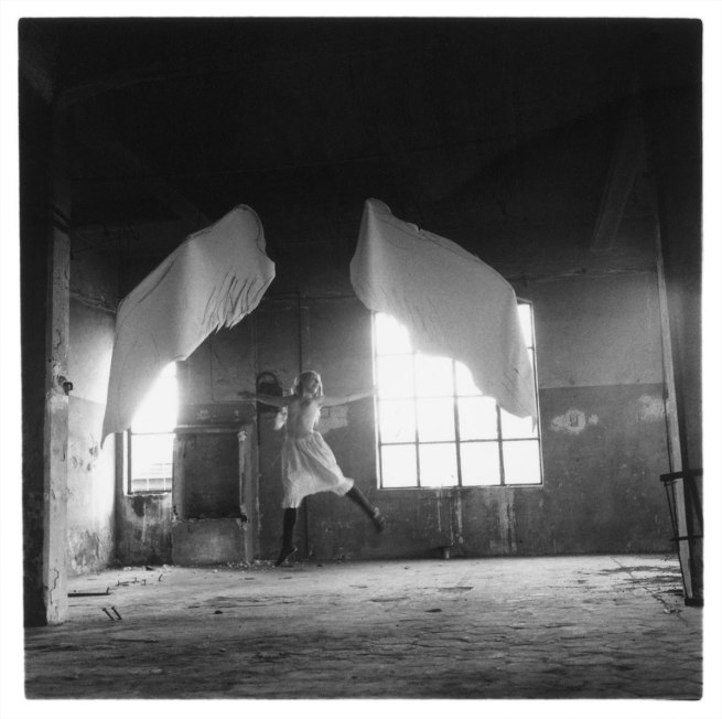 Francesca Woodman. 'Untitled' (from the Angels series) 1977