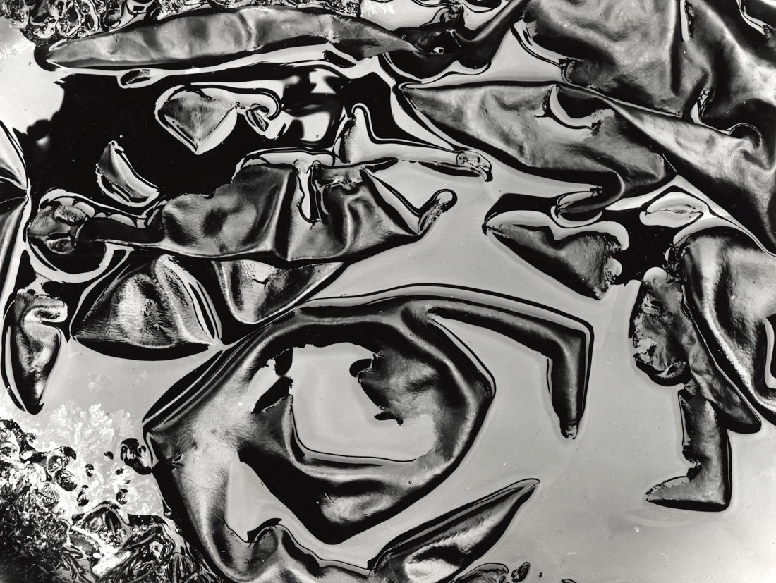 Brett Weston. '(Untitled) Tide Pool and Kelp' c. 1980