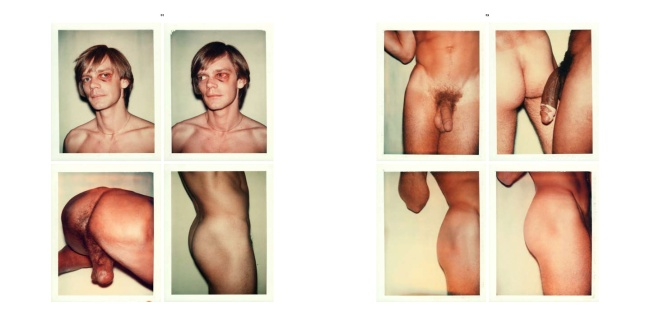 Andy Warhol. 'Untitled' Pages 38 and 39 of The Andy Warhol Photographic Legacy Program, Vol. III