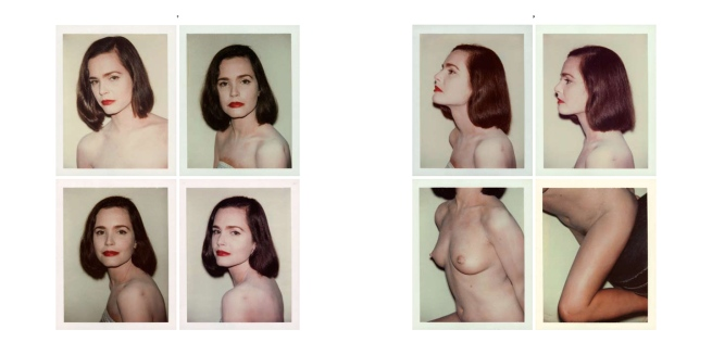 Andy Warhol. 'Untitled' Pages 8 and 9 of The Andy Warhol Photographic Legacy Program, Vol. III