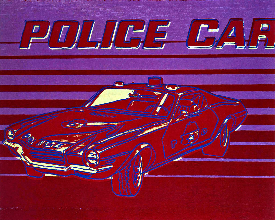 Police Car Paintings
