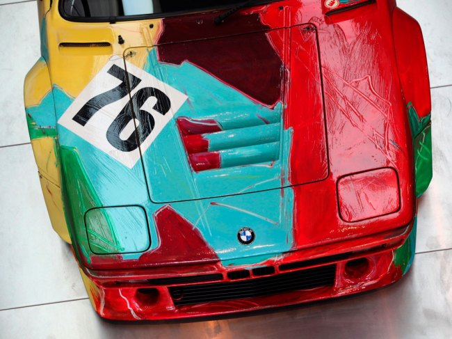 Andy Warhol. 'BMW M1 Art Race Car' 1979 (detail)
