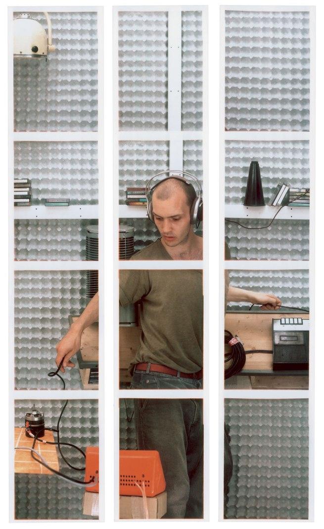 Jan Wenzel. 'Bastler II' 2000
