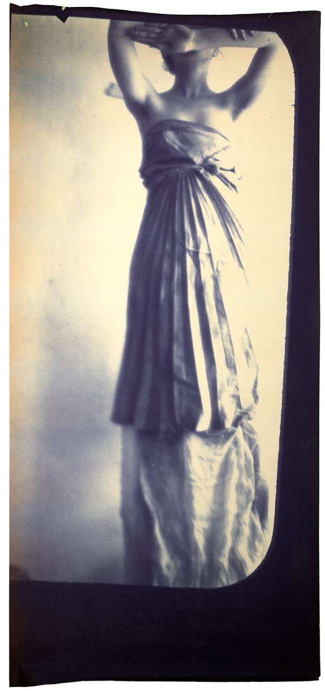 Francesca Woodman. 'Caryatid' 1980
