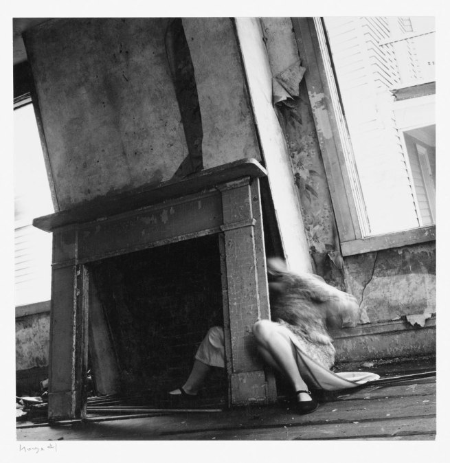 Francesca Woodman. 'House #4' 1976