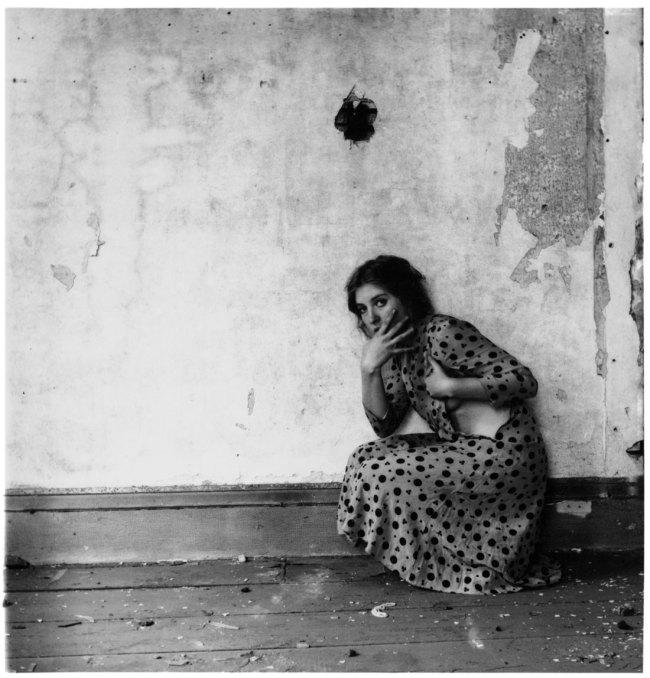 Francesca Woodman. 'Polka Dots' 1976