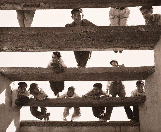 Lola Álvarez Bravo. 'Los gorrones' c. 1955