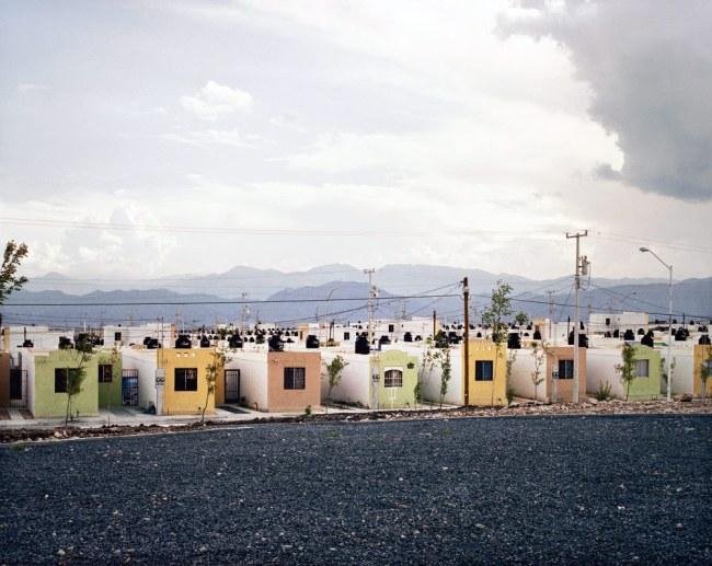 Alejandro Cartagena. 'Fragmented Cities, Juarez #2' from the series 'Suburbia Mexicana' 2007