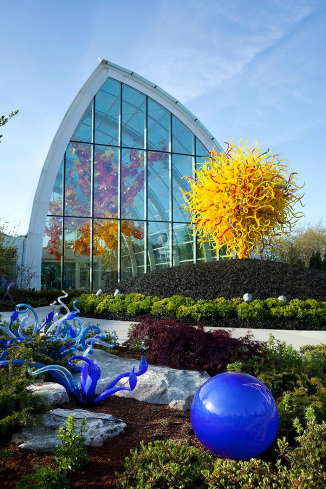 Chihuly Garden and Glass 'Glasshouse and Garden' 2012