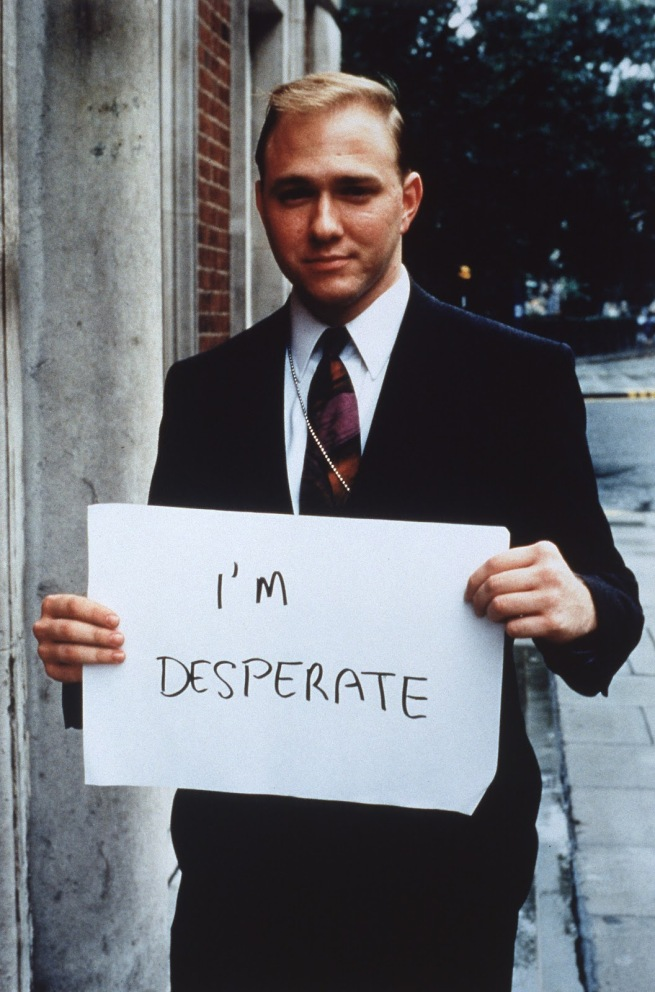 Gillian Wearing. 'I'M DESPERATE' 1992-3