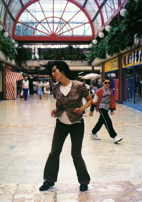 Gillian Wearing. 'Dancing in Peckham' 1994