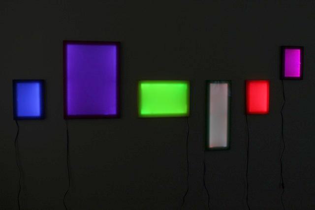 Veronica Caven Aldous. 'Light in space 1' 2010-11