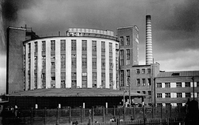Photographer unkown. 'Bakery: exterior showing the four production levels' 1938