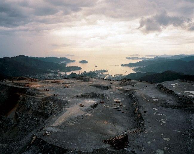 Naoya Hatakeyama. 'Lime Hills #27403' 1989