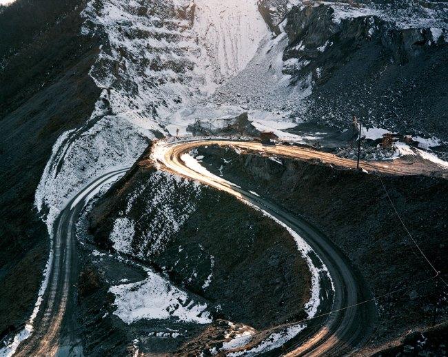 Naoya Hatakeyama. 'Lime Hills #29211' 1990