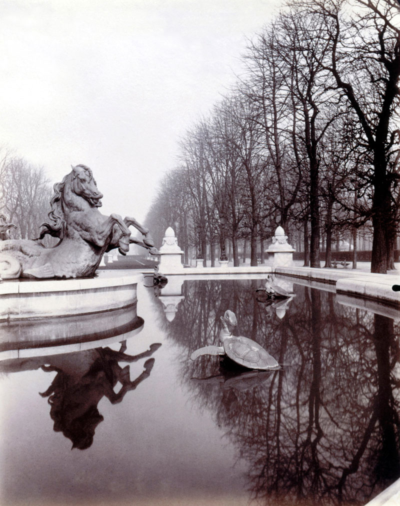 Exhibition eug ne atget paris at the carnavalet museum for Le jardin