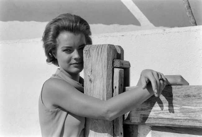 Anonymous photographer. 'Romy Schneider' Nd
